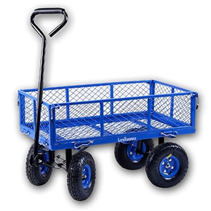landworks garden utility cart