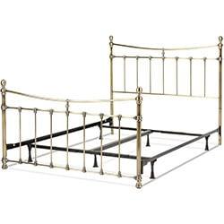 kingsize iron bed