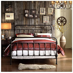 cast iron bed frames