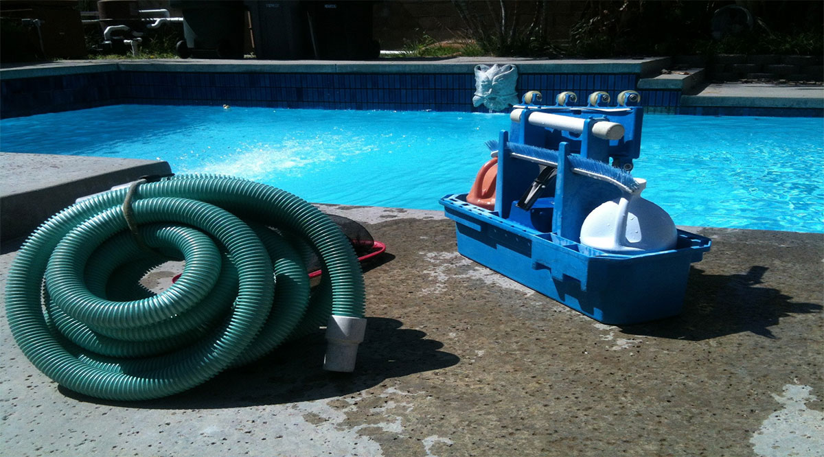 factors to consider when cleaning a small pool