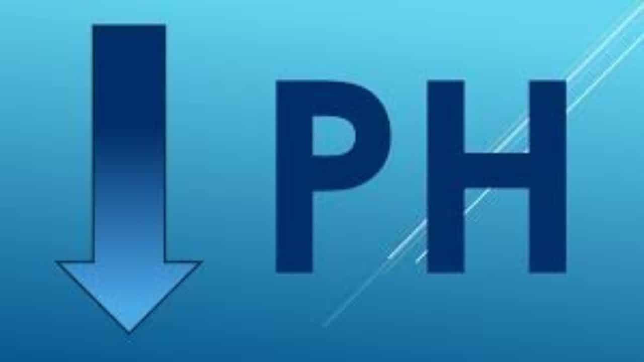 Lower the pH Balance