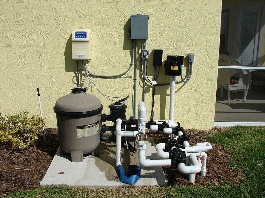 how sand filters work